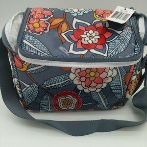 Vera Bradley Tropical Evening Cooler Lunch Bag NWT